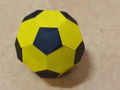 Origami Soccer ball Tutorial