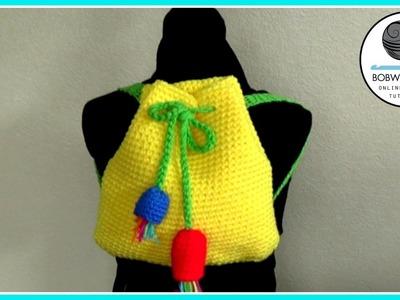 Crochet bag tutorials promotional video