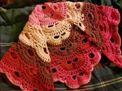 "Crochet ""The Virus Shawl"" Tutorial"