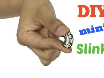 DIY How To Make Mini Slinky! Very easy to make! DIY Como Hacer mini Slinky