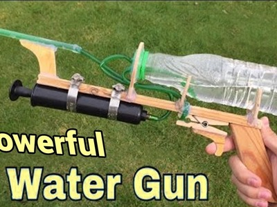 How to Make a Powerful Water Gun at Home (Very Easy)