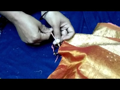 How to make easy Saree tassels with beads