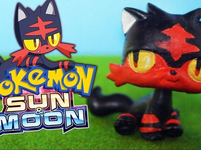 LPS Litten Pokemon Custom Littlest Pet Shop DIY Tutorial  | Alice LPS