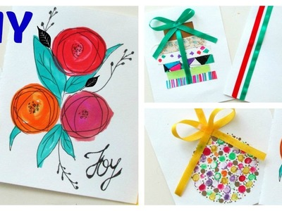 Quick and easy Gift Card for Christmas.Handmade.DIY