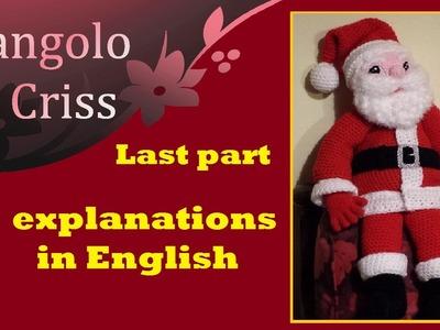Santa Claus amigurumi crochet -  step by step part II