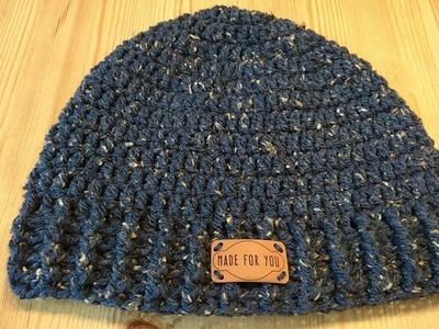 Siem's XXL Mens Hat - Crochet - Tutorial - English