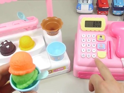 BIG ToY Ice Cream Toys Shop Market Cash Register - How To Make