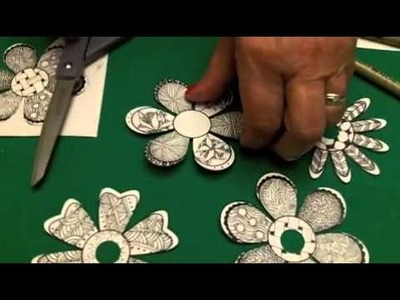 Holiday Ornaments with Zentangle®