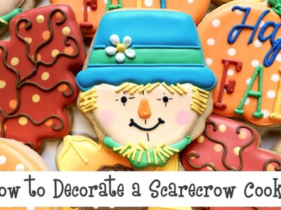 How to Decorate a Scarecrow Cookie