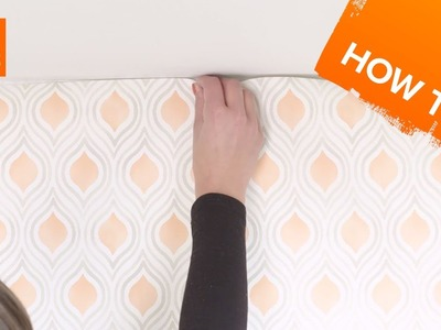 How to hang wallpaper - paste the wall
