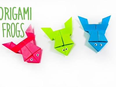 How to make a paper frog | Origami frog | Easy origami