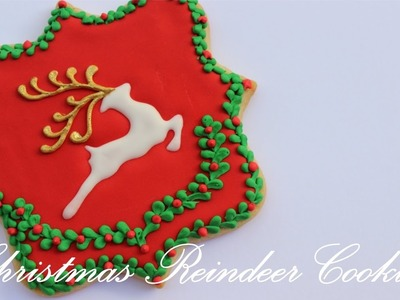 How To Make A Royal Icing Reindeer