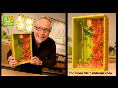How to make a Shadow Box filled with Flowers!