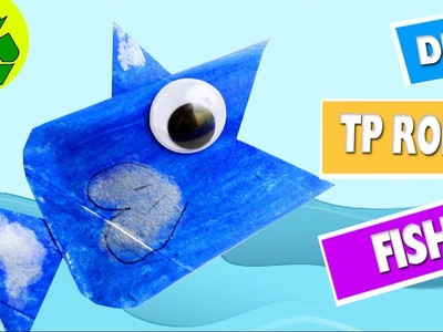 How to Make a Toilet Paper Roll Fish  Toilet Paper Roll Crafts