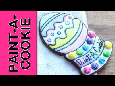 How to make candy paint to create an edible paintable cookie - Paint-A-Cookie - Candy edible paints