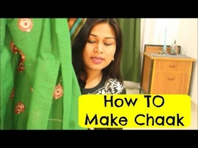 How To Make Chaak (Open Side Slit Of Kurti)   Beginners Guide #2   Anjalee Sharma