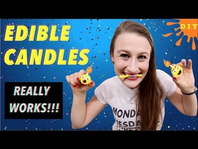 How To Make Edible Candles That Really Work!