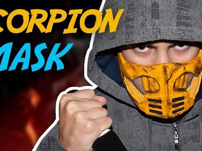 How to Make the Scorpion Mask (Mortal Kombat)