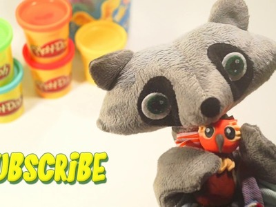 How to make your own OWL? Play-Doh, Modelling Fun Clay for Kids Part 5