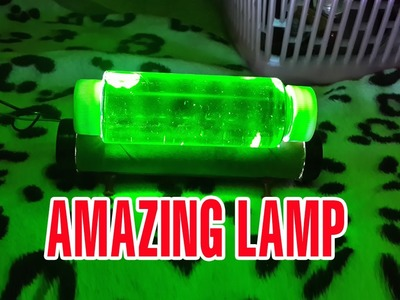Make a Green-light Lamp at home - Cool things to make at home #2