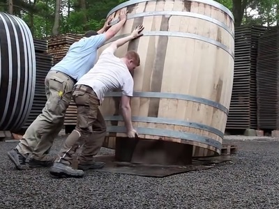 How Giant Barrels Are Made - 3 Cooperages