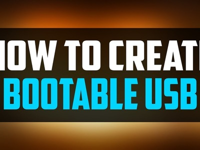 How to Create Bootable Usb From ISO - Make Bootable Pendrive [BEGINNER'S TUTORIAL]