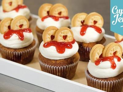 How to Make a Jammie Dodger Cupcake | Cupcake Jemma