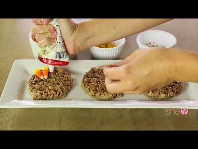 How to Make a Turkey Rice Crispy!