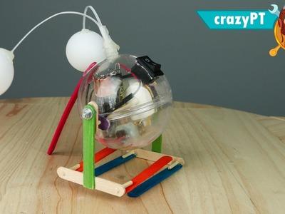 How to make a Walking Robot - (Walking Ball)