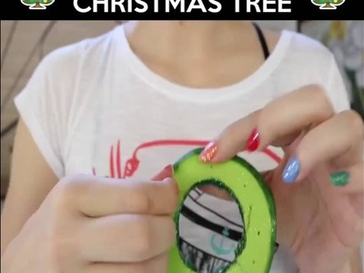 How to make Cardboard Christmas Tree at home