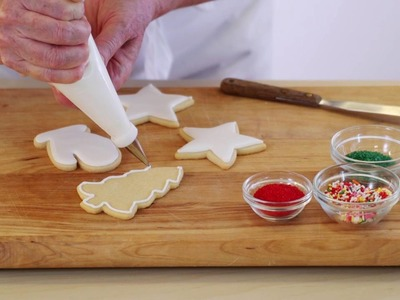How to Make & Use Royal Icing