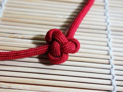 How to Tie  a Lambda Knot Friendship Paracord Bracelet Tutorial