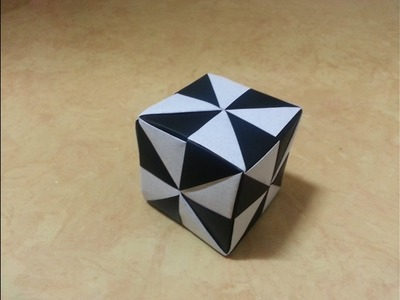 Origami - How to make Cube box step by step Part 2