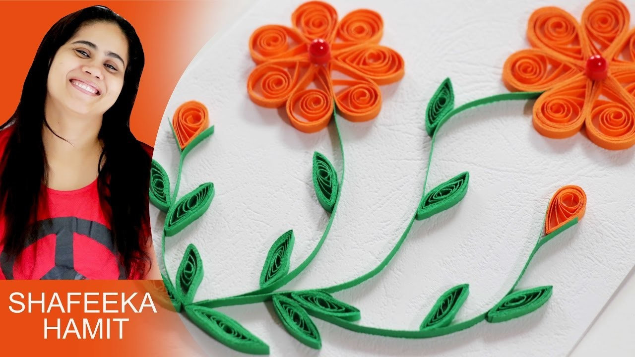How to make paper quilling patterns
