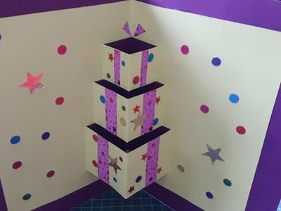 TEASER How to make a christmas pop up card, handmade christmas cards