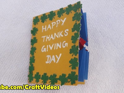 Thank you card ideas, How to make thank you cards, Thank you greeting cards that pop up