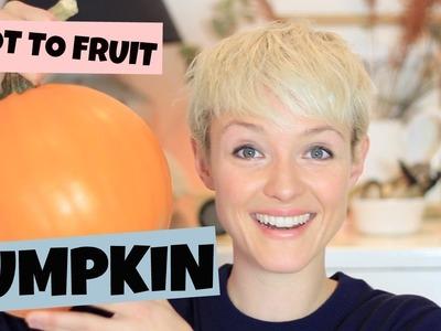 HOW I USE UP MY HALLOWEEN PUMPKIN | Zero Waste | Kate Arnell