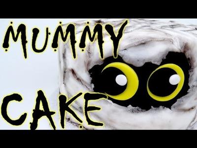 How-To make A Halloween MUMMY CAKE