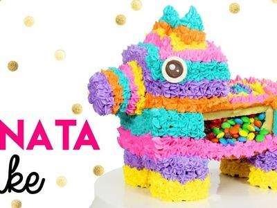 How to Make a Pinata Cake!