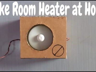 How to Make Room Heater at Home - Easy Way - Free Energy Tips and Tricks
