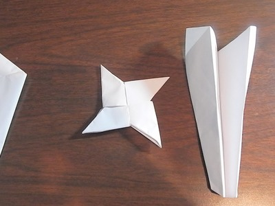 3 Cool Things to Make Out of Paper| Video Bros
