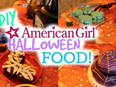 DIY American Girl Halloween Treats!