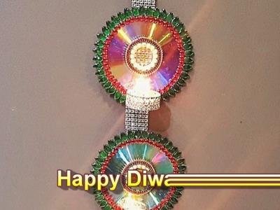 DIY Hanging Diva | Diwali Decoration Ideas ( Easy and Creative)