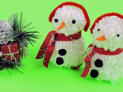 DIY Snowman.Get Ready for Christmas with Me