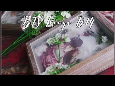 BTS Wings 3D Frame DIY