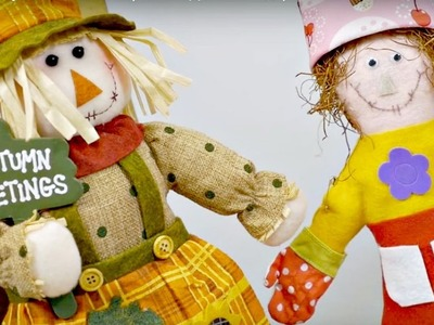 Crafts for kids and DIY ideas. A doll friend for Scarecrow. Thanksgiving day videos for kids.