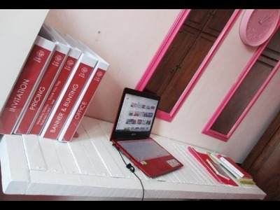 DIY : #153 Make Up & Working Table From PALLETS ♥