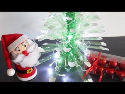 DIY Christmas Crafts Ideas Plastic Bottles Christmas Tree|Best out of Waste|Recycled Bottles Crafts