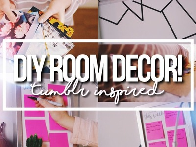 DIY CUTE + EASY ROOM DECOR 2016!. Tumblr & Pinterest Inspired