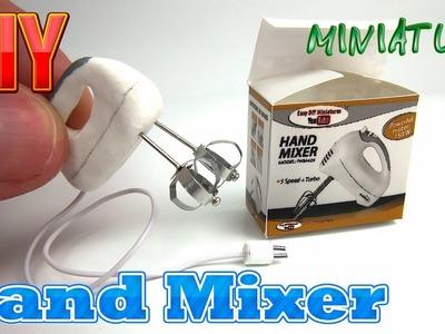 DIY Hand Mixer Miniature